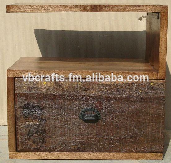 Reciclar madera laterales de la cama mueble de madera - Reciclar muebles de madera ...