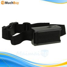 Black Auto 55cm Anti Dog Barking Tone Shock Training Collar for Small Medium 5-150 Pound Dogs