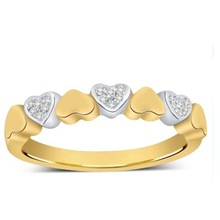 Mani Jewel 14Kt Gold Classic Heart Ring