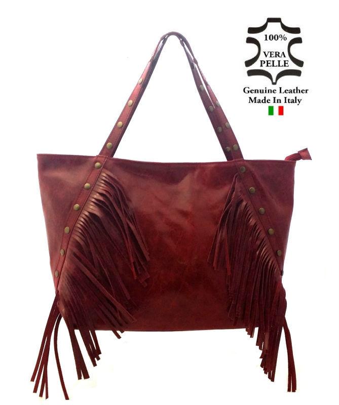 กระเป๋าหนังกระเป๋าทำในอิตาลีartของ47