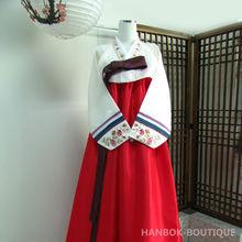 Feel-Korea / Korean Traditional Hanbok for Women Custom Made Korean Hanbok Dress A0010701013004
