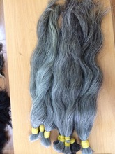 Best price Double Grey hair - perfect for bleaching Light Blonde colour
