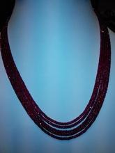 ruby perlas facetadas