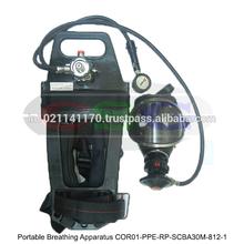 Un aparato de respiración portátil ( COR01-PPE-RP-SCBA30M-812-1 )