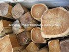 Available Teak square logs