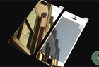 Colored Tempered Glass rear back cover shield protector Case for iphone6 iphone 5S