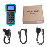 Original Super VAG K CAN Plus 2.0 Diagnosis + Mileage Correction + Pin Code Reader SuperVAG K+CAN Plus Free Update+Free Shipping