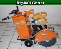 asphalt cutter