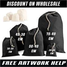cotton stuff bag. printed cotton bag. westford bags