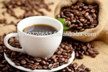 Coffee, roasted, arabica minas, santos