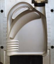 Moulds for plastic bottles