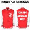 custom varsity jacket. no minimum order. customised jacket