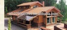 INDONESIA WOOD HOUSES / RUMAH KAYU INDONESIA - ASIA type