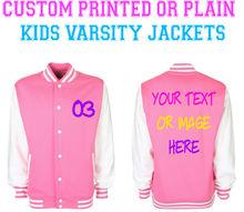 pink baseball jackets. team printed jackets