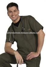 Conjuntos matagal, Esfrega, Médicos / enfermeiros matagal roupas, Pc tecido liso