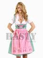 Personnalisée en coton dames traditionnels oktoberfest dirndls dirndl allemand vêtementsles( trachten porte)