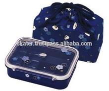 KPM4S Fuku-Usagi Lunch Box with Bag / small hard plastic storage case