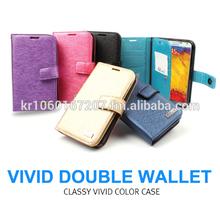 Vivid Wallet Mobile Phone Case Cover for Apple iPhone 6, 6 plus Korea