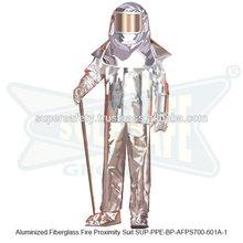 Aluminized Fiberglass Fire Proximity Suit ( SUP-PPE-BP-AFPS700-601A-1 )