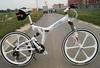 26 inch Mountain bike bicycle 24 speed folding mountain bike aluminum alloy one piece wheel mountain bike ride