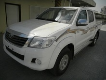 Toyota Hilux 2.7L DC 4X4 PWR AB ABS MT 2014 Model.