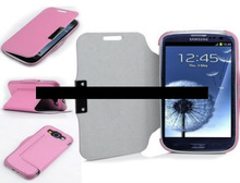 Premium leather wallet stand flip case for Samsung galaxy S3 i9300 for iPhone 6, iPhone 5 and iPhone 4 and for Samsung S5