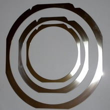 Various shapes of thin wafer ring design made in Japan , small lot order available