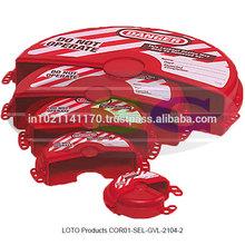 LOTO Products ( COR01-SEL-GVL-2104-2 )
