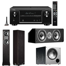 AVR-X4000 In-Command 7.2 Channel 4K Ultra HD Networking Home Theater Receiver Plus A Polk Audio Speaker Package