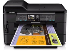 Epson WorkForce WF-7520 Wireless All-in-One Wide-Format Color Inkjet Printer, Scanner, Copier, Fax