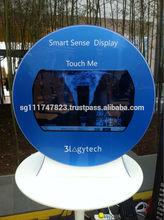 Smart Transparent TV Display