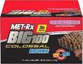MET-Rx Big 100 Colossal Brownie, Super Chocolate Fudge - 3.52 oz bar
