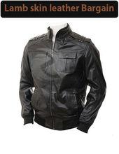 Leather Jacket Sheepskin Leather Jacket Men Leather Jacket