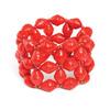Paper bead elestic bracelets