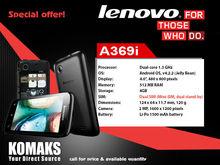 Lenovo A369i Mobile (Black)
