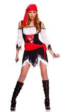 New Design Halloween Pirate Womens Costume