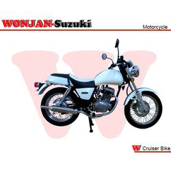 250cc cruiser bike, suzuki technology,motorcycle,gas or diesel,motorbike,chopper(GN250 white)