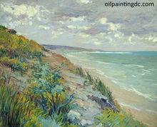 Sea landscape oil painting
