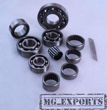Vespa Complete Bearing Kit for PX125 150 200 STELLA LML Scooters @ MGE