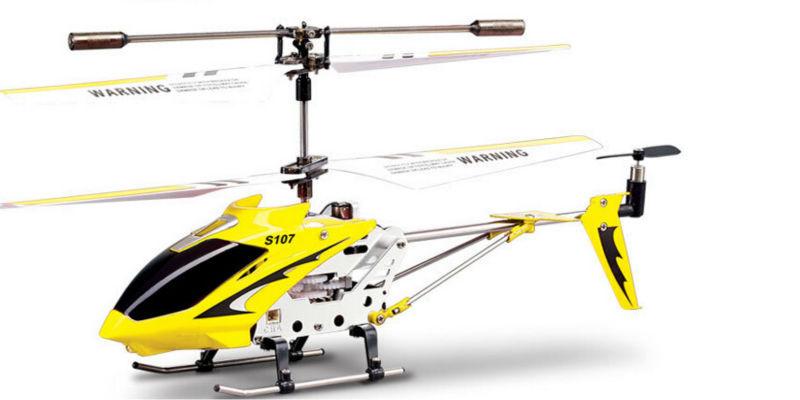 Máy bay trực thăng điều khiển từ xa S107G 3 kênh với máy bay trực thăng