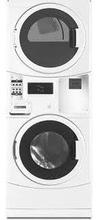 Maytag Commercial MLG20PR Energy Advantage Gas Stack Washer/Dryer