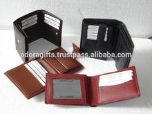 ADAGW - 0178 top quality real leather men wallets /mini cute wallet foe men / personalized mens wallets