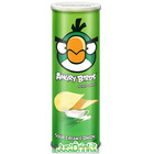 Angry Birds Potato Crisps Sour Cream & Onion Flavour Savoury Snack (160 grams)