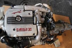 JDM Nissan Skyline GT-S R34 RB25DET NEO Engine AWD Automatic Transmiss