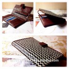 Purse handbag wallet new design wicker natural grass Thai handmade handicraft.