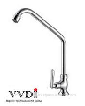 Brass Chrome Pillar Cold Sink Tap/Kitchen Faucet