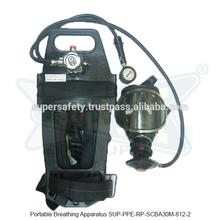 Un aparato de respiración portátil ( SUP-PPE-RP-SCBA30M-812-2 )