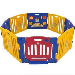 Sky Baby Playpen Kids 8 Panel Safety Play Center Yard Home Indoor Outdoor