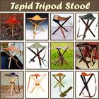 wood tripod stool