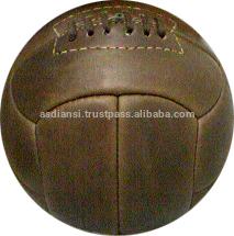 Antique Leather Soccer Balls